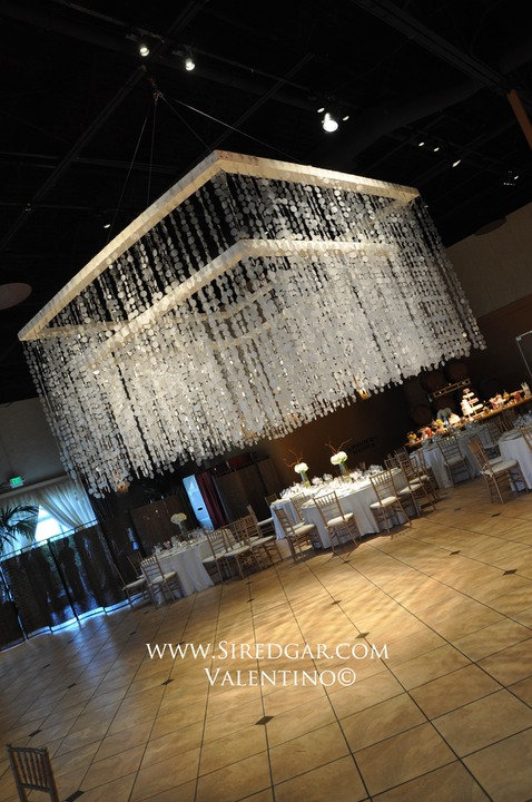 Palm Event Center Wedding 10 on dj lighting